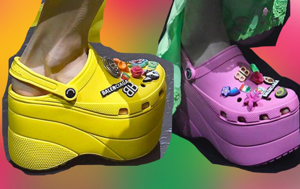8453d46837d Balenciaga Did Platform Crocs And… Ded