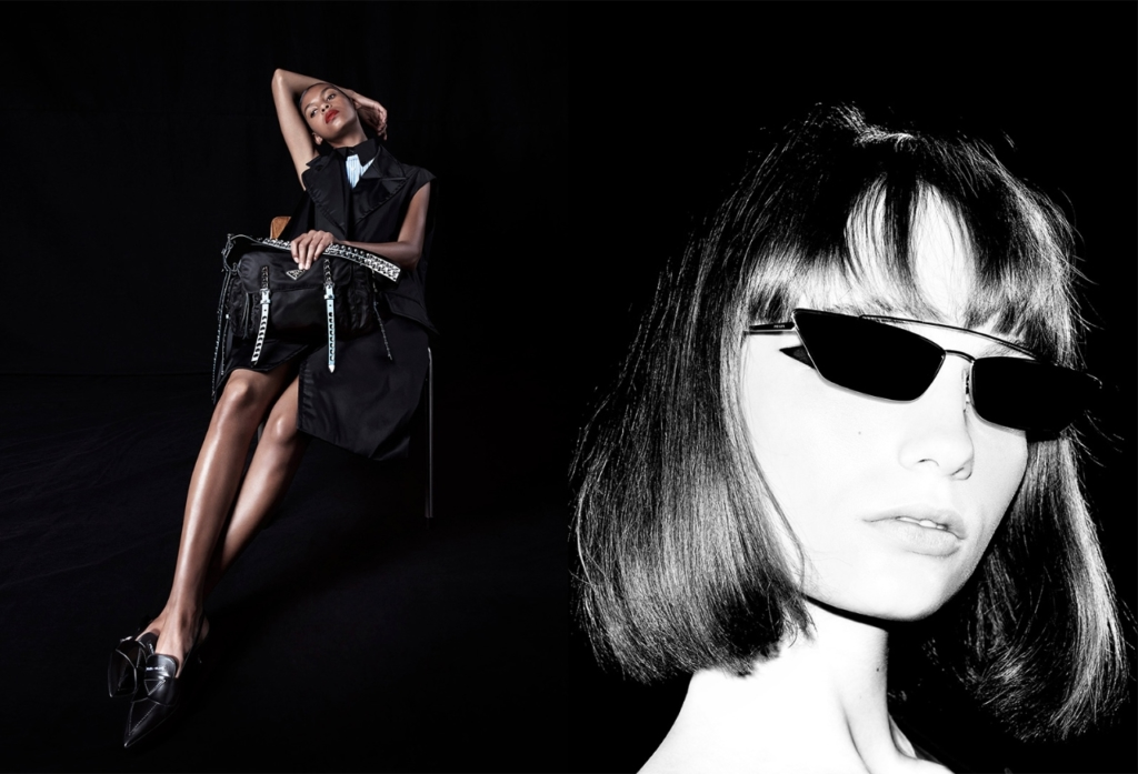 a49481308dd8eb In a new campaign snapped by Willy Vanderperre, Prada open a new chapter of  their 365 series and call it 'Black Nylon'.