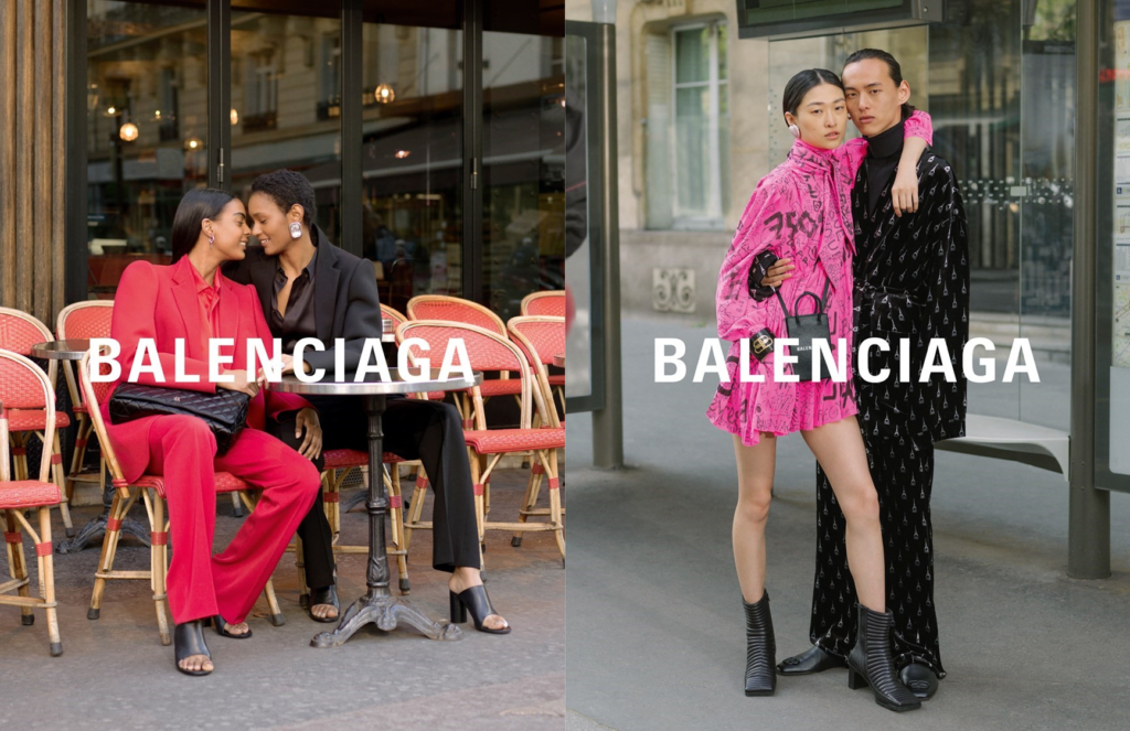 quality products for whole family look out for The New Balenciaga Campaign Stars Real Parisian Couples And ...
